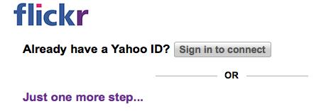 続いて今まで使っているYahoo IDを使ってサインインします。