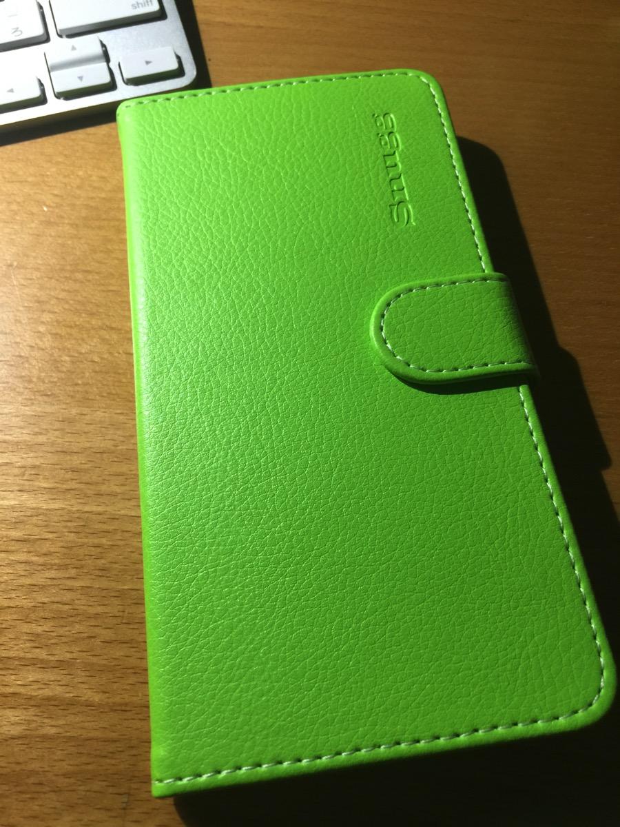グリーンも鮮やかなiPhoneケース